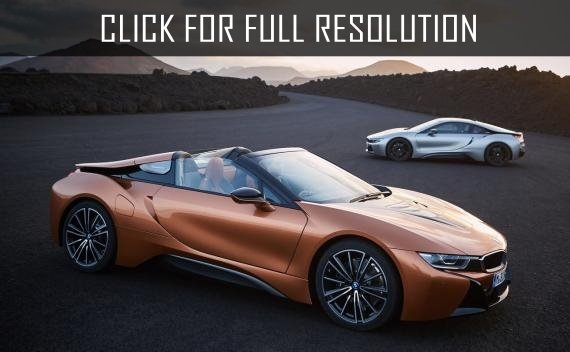 Bmw i8 roadster and bmw i8 coupe 2018