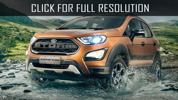 Ford presented new EcoSport crossover