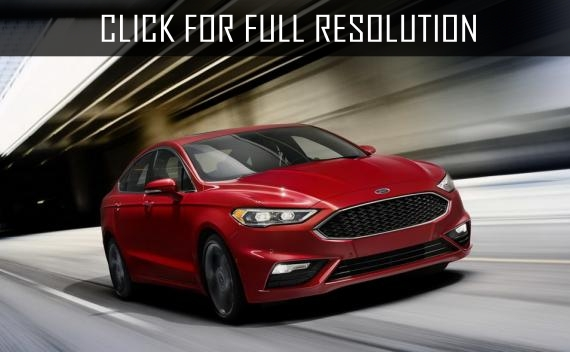 Ford fusion sedan changes