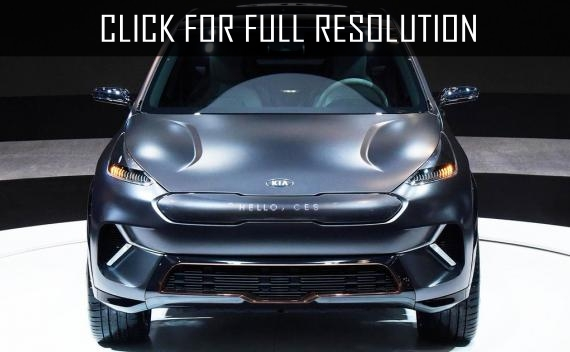 Kia niro ev electric crossover