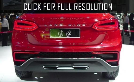 Landwind company has begun sales a clone of Mercedes Benz GLA