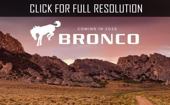 Renewed SUV Ford Bronco will appear until 2020