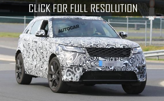 Range Rover Velar SVR supercharged debuts in October 2018