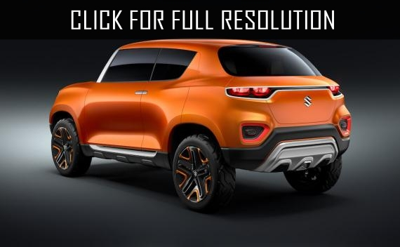 Suzuki introduced a new crossover Future-S
